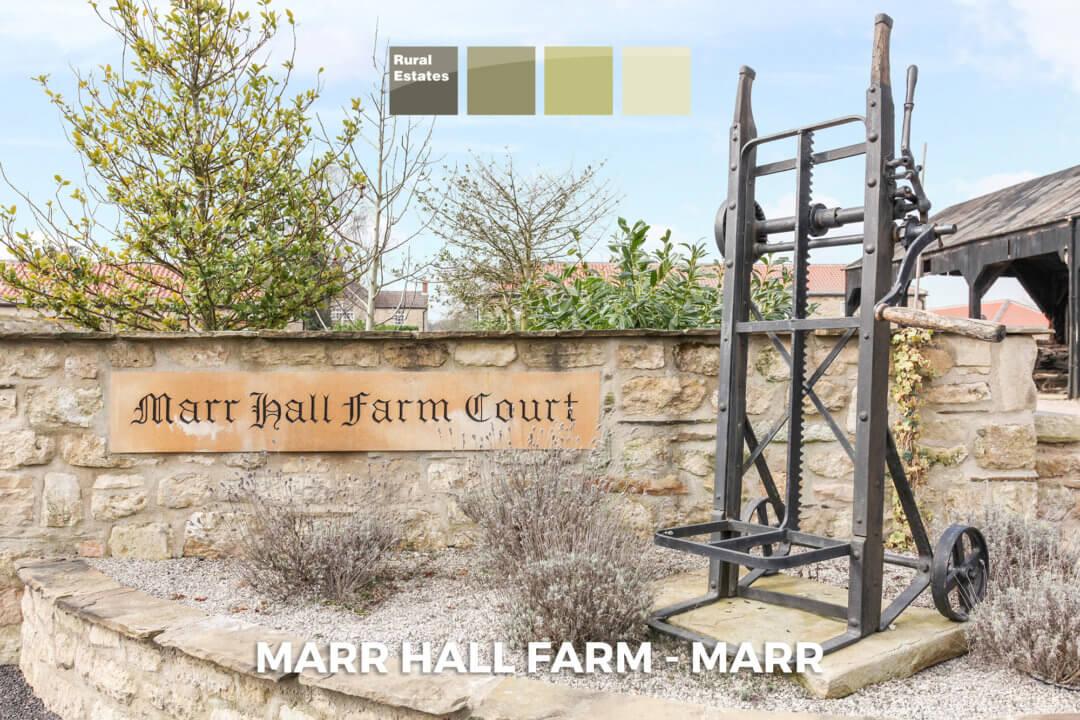 Marr Hall Farm – Marr